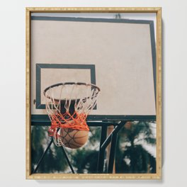 Basketball 56 Serving Tray