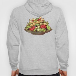 French Fry Salad Hoody