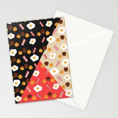 Bacon, Egg & Muffin!! Stationery Cards