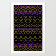 Sweater Pattern Art Print