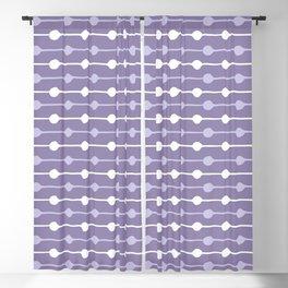 Dots Stripes Ultraviolet Blackout Curtain
