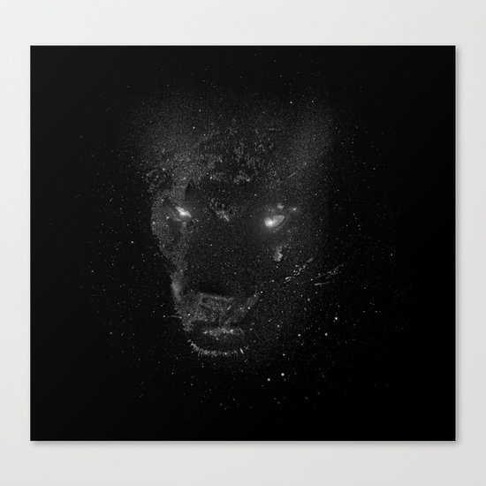 Space Panther Canvas Print
