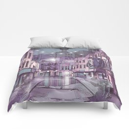 Concrete Jungle Comforters