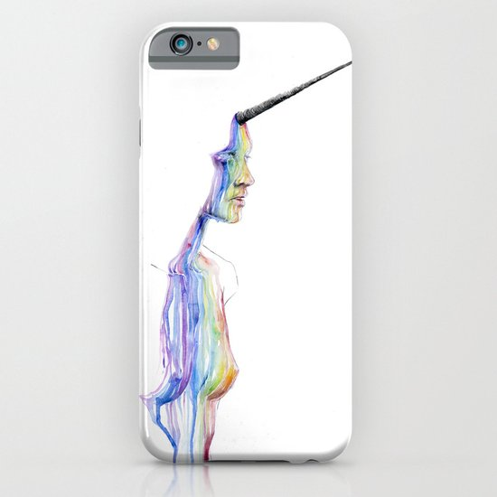 unicorn girl iPhone & iPod Case