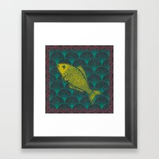 Swimming Upstream 3 Framed Art Print