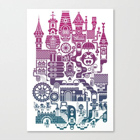 Castle Mama Canvas Print