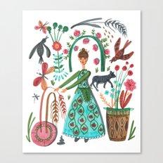 Autumn Love Canvas Print
