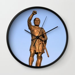 Skopje XII Wall Clock