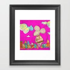 Urban Mouse Framed Art Print