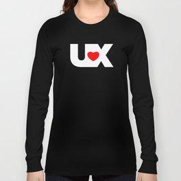 I Love UX Long Sleeve T-shirt