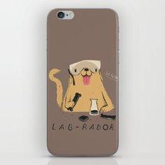 lab-rador iPhone & iPod Skin
