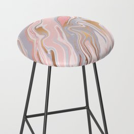 Marble and Gold 005 Bar Stool