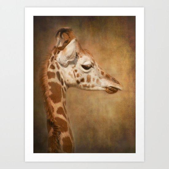 Beautiful Baby Art Print