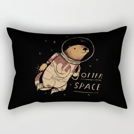 otter space Rectangular Pillow