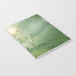 Greenery Sunrise Notebook