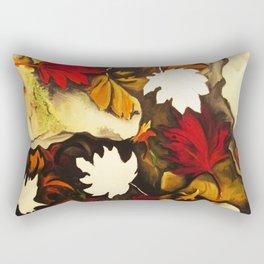 Autumn in Water III Rectangular Pillow