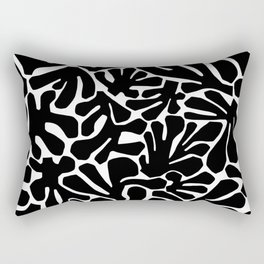 The Cut Outs // B&W Rectangular Pillow