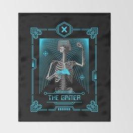 The Gamer X Tarot Card Throw Blanket