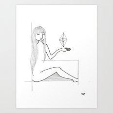 here u go Art Print