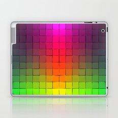 Rainbow squares Laptop & iPad Skin