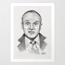 Top Quabbity Portrait Art Print
