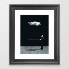 Patience /  stubbornness Framed Art Print