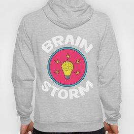 Problem Solving or Brainstorming Tshirt Design Brain storm Hoody