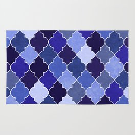 Morocco Blue Rug
