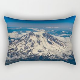 Pacific Northwest Aerial View - II Rectangular Pillow
