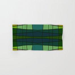Green Pattern Turtle Hand & Bath Towel