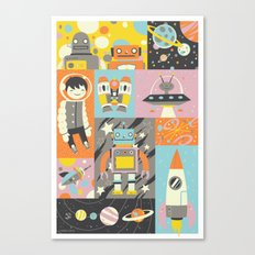 Give Us Space Canvas Print