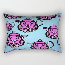 Tea Pots Rectangular Pillow