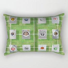 Tennis Court 01 Rectangular Pillow