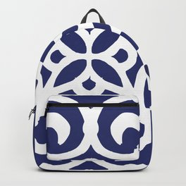 Talavera Classic Blue and White Scrolls Backpack