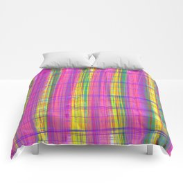 Checks 1 Abstract Pattern Comforters