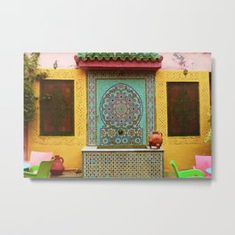 This is Morocco Metal Print