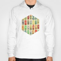 car Hoodies featuring Car Park by Cassia Beck