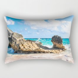 Horseshoe Bay, Bermuda Rectangular Pillow