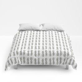 Pineapple Photography Print | Minimalism | Tropical Pattern Comforters