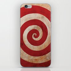 Sideshow Carnival Spiral iPhone & iPod Skin