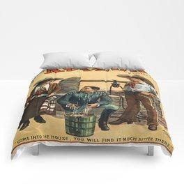 Vintage poster - Arizona Comforters