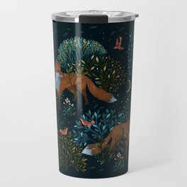 Forest Foxes Travel Mug