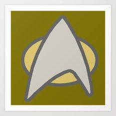 Star Trek, Communicator  Art Print