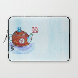 Chinese Teapot Laptop Sleeve