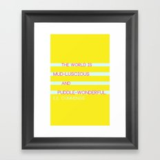 Puddle Wonderful Framed Art Print
