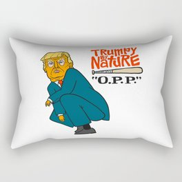 Trumpy by Nature Rectangular Pillow