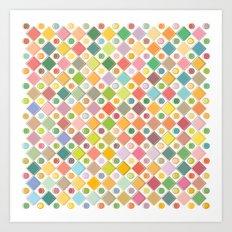 Colour Mix Art Print