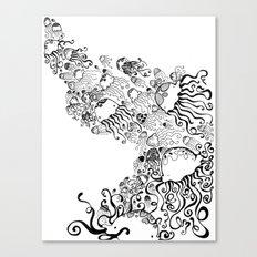 Jellyfish Migration Canvas Print