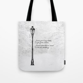 Chronicles of Narnia - Some adventures - CS Lewis Tote Bag