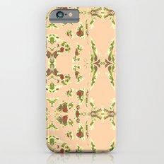Pattern AM03 Peach Slim Case iPhone 6s